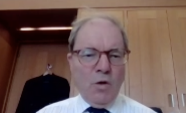 Sir Geoffrey Clifton-Brown said the government treated the care sector as a 'forgotten cousin'. (Parliamentlive.tv)