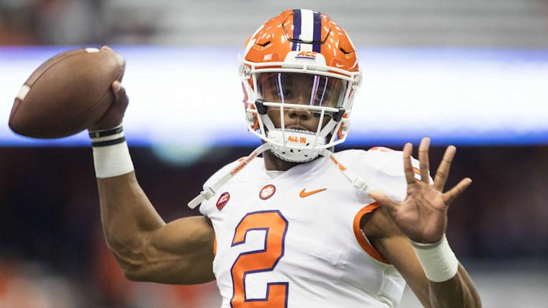 Former Clemson QB Kelly Bryant reportedly set to visit Arkansas