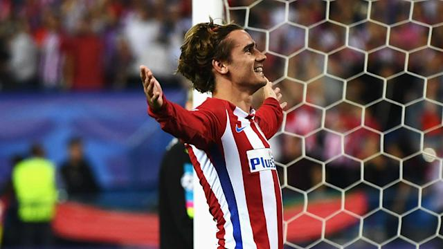 Atletico Madrid fans have received contrasting messages from Antonio Griezmann over his future but the France star is happy at the club.