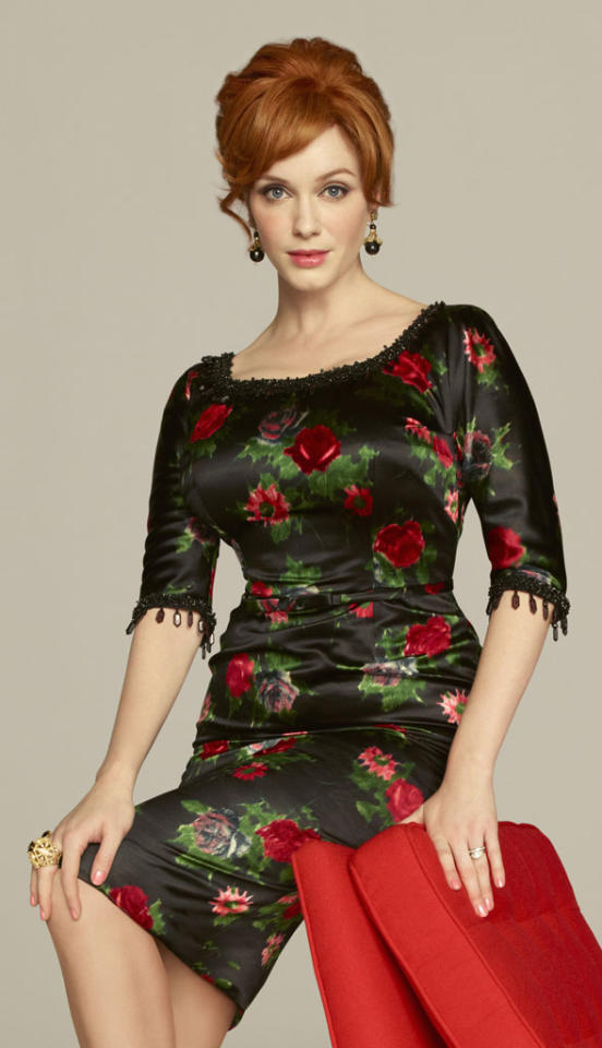 "Supporting Actress in a Drama Series: Christina Hendricks, ""Mad Men"""
