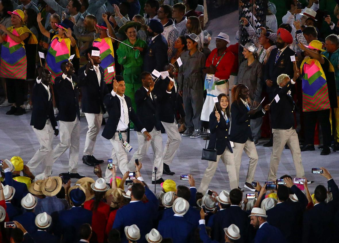 Dubai authorities detain seven members of the Olympic refugee team at airport
