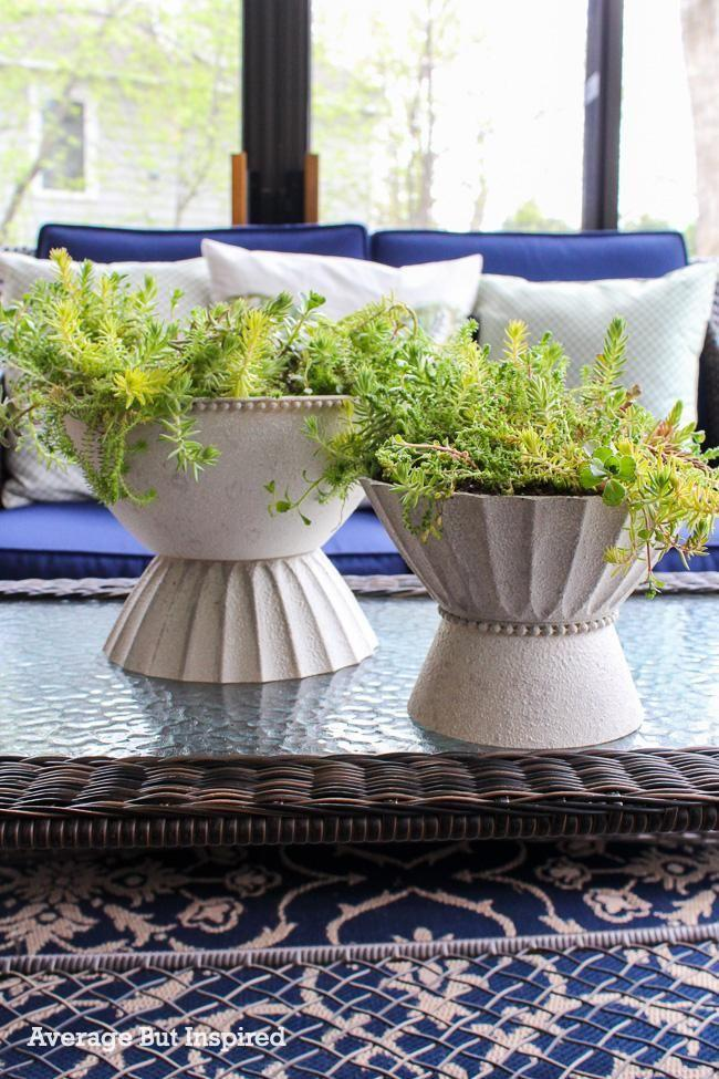"""<p>Concrete planters are popular these days, but they can be a bit expensive. For a budget DIY option, make your own using plastic serving bowls and concrete spray paint. </p><p><strong>Get the tutorial at <a href=""""https://averageinspired.com/2021/04/diy-modern-planter.html"""" rel=""""nofollow noopener"""" target=""""_blank"""" data-ylk=""""slk:Average But Inspired"""" class=""""link rapid-noclick-resp"""">Average But Inspired</a>.</strong></p><p><a class=""""link rapid-noclick-resp"""" href=""""https://go.redirectingat.com?id=74968X1596630&url=https%3A%2F%2Fwww.walmart.com%2Fip%2FDuck-Brand-7-in-x-55-yd-Beige-General-Purpose-Masking-Tape%2F17510804&sref=https%3A%2F%2Fwww.thepioneerwoman.com%2Fhome-lifestyle%2Fgardening%2Fg36556911%2Fdiy-planters%2F"""" rel=""""nofollow noopener"""" target=""""_blank"""" data-ylk=""""slk:SHOP MASKING TAPE"""">SHOP MASKING TAPE</a></p>"""