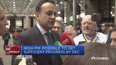 "Irish Taoiseach Leo Varadkar says that further concessions from the U.K. government will be ""met with greater understanding"" from the EU side of Brexit talks."