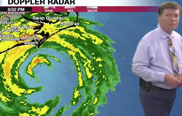 Storm Florence: The impact in numbers