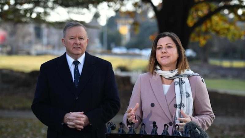 Anthony Albanese and Labor candidate Kristy McBain say local issues are a big factor in Eden-Monaro