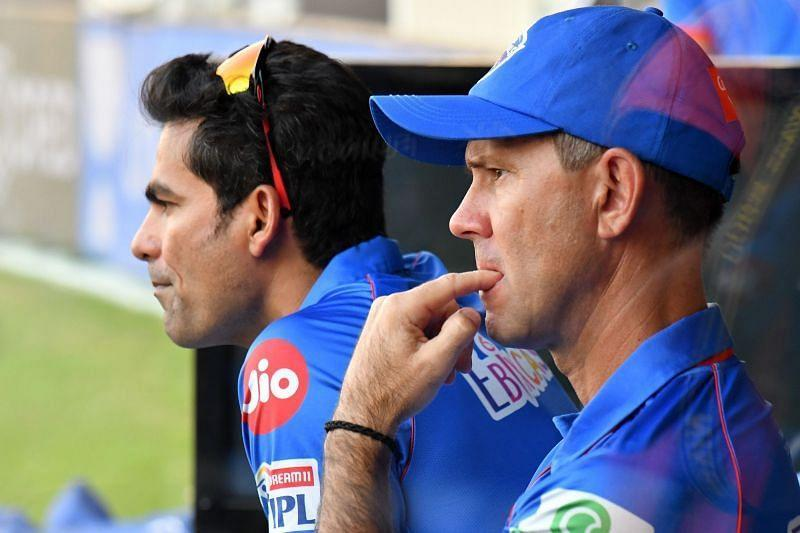 DC's coaching staff had no answers to their implosion on the field. [PC: iplt20.com]