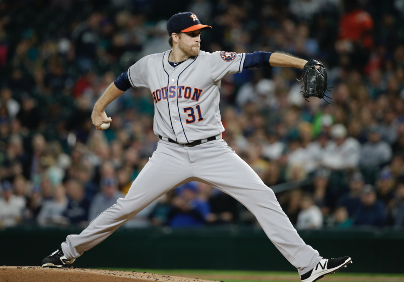 Collin McHugh could be a sneaky pickup for the second half