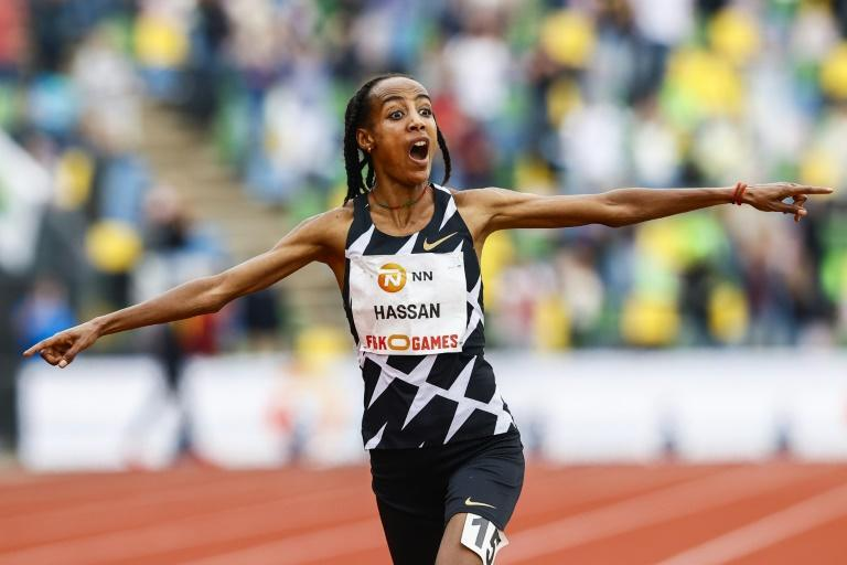 Dutch runner Sifan Hassan is attempting an unprecedented treble of 1500, 5,000 and 10,000m