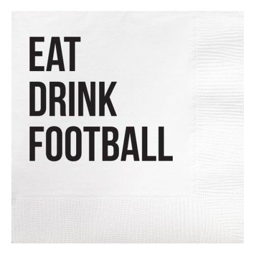 "<p>These <a href=""https://www.popsugar.com/buy/Eat-Drink-Football-Beverage-Napkins-482224?p_name=Eat%20Drink%20Football%20Beverage%20Napkins&retailer=swoozies.com&pid=482224&price=7&evar1=savvy%3Auk&evar9=46514589&evar98=https%3A%2F%2Fwww.popsugar.com%2Fsmart-living%2Fphoto-gallery%2F46514589%2Fimage%2F46516811%2FEat-Drink-Football-Beverage-Napkins&list1=college%2Cfootball%2Ctailgating&prop13=api&pdata=1"" rel=""nofollow"" data-shoppable-link=""1"" target=""_blank"" class=""ga-track"" data-ga-category=""Related"" data-ga-label=""http://www.swoozies.com/product/307492"" data-ga-action=""In-Line Links"">Eat Drink Football Beverage Napkins</a> ($7 for 20) are a must for any tailgate crew.</p>"