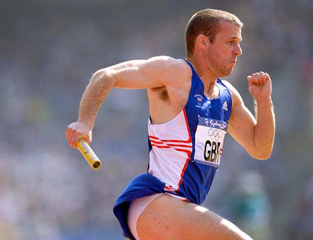 <p>Allyn Condon first represented Team GB in athletics at the Sydney Olympics in 2000, where he competed as part of the 4×100 relay team. (Getty) </p>
