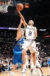 Tony Parker averaged 19 points off the bench in the Spurs' first three playoff games against the Mavericks