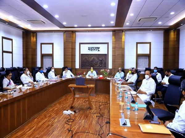 Maharashtra Chief Minister Uddhav Thackeray chairs high-level meet to assure justice to all stake holders of Martha community. Photo/ANI