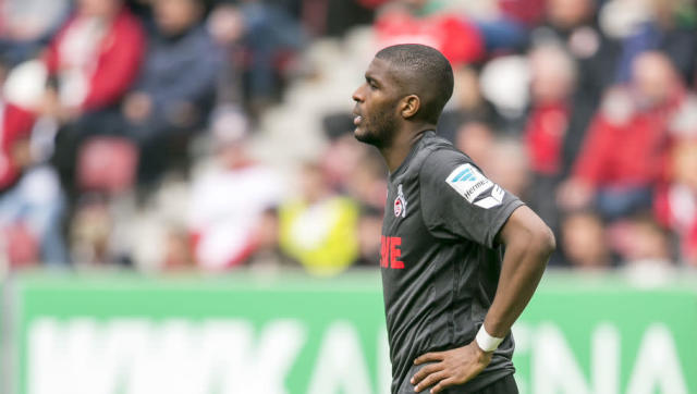 <p><strong>Goals this week</strong>: 0 (vs Augsburg) </p> <p><strong>Total league goals</strong>: 23</p> <p><strong>League games played</strong>: 29</p> <p><strong>Goals/game ratio</strong>: 0.79</p> <br><p>Despite not scoring against Augsburg this weekend as Köln lost in Augsburg (2-1), Anthony Modeste remains in this top 10 thanks to his goals per game ratio, with 23 in 29 league games this season. </p>
