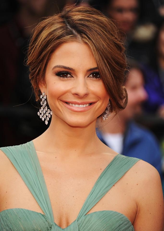 "<strong>Maria Menounos</strong><br><br> This longtime TV host will be partnered with pro Derek Hough on Season 14 of ""<a target=""_blank"" href=""http://tv.yahoo.com/dancing-with-the-stars/show/38356"">Dancing With the Stars</a>."""