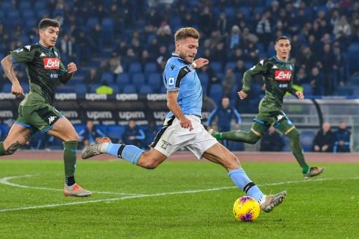 Ciro Immobile scored the only goal as Lazio beat Napoli in Serie A on January 11