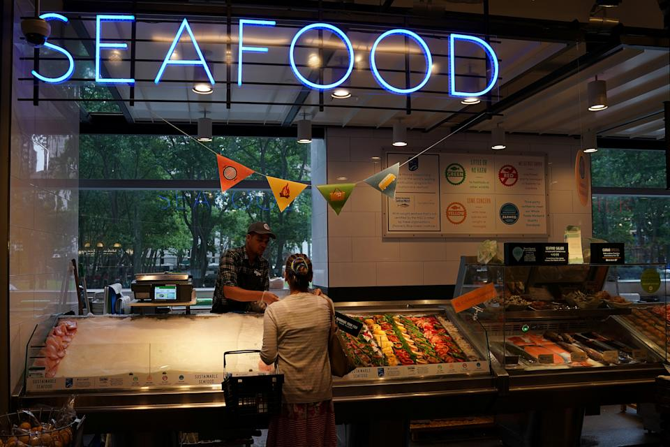 Food safety inspectors haven't been able to monitor the safety of seafood. (Photo: REUTERS/Carlo Allegri)