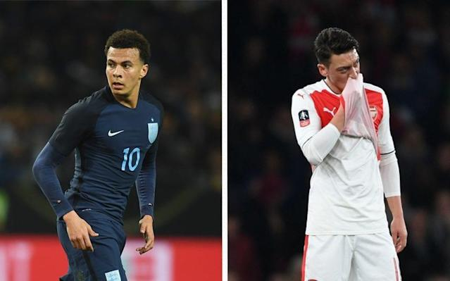 Lee Dixon has called on Mesut Ozil to show his nasty side - Getty Images