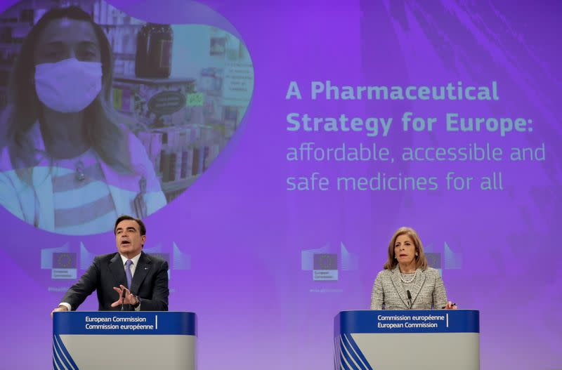 EU Commission publishes pharmaceutical strategy