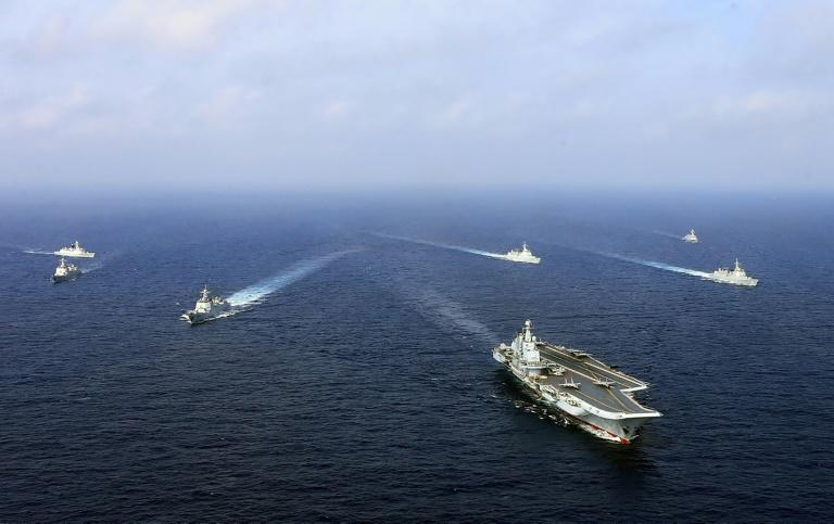 China's sole aircraft carrier has conducted a string of drills recently in waters where Beijing has disputes with its neighbours