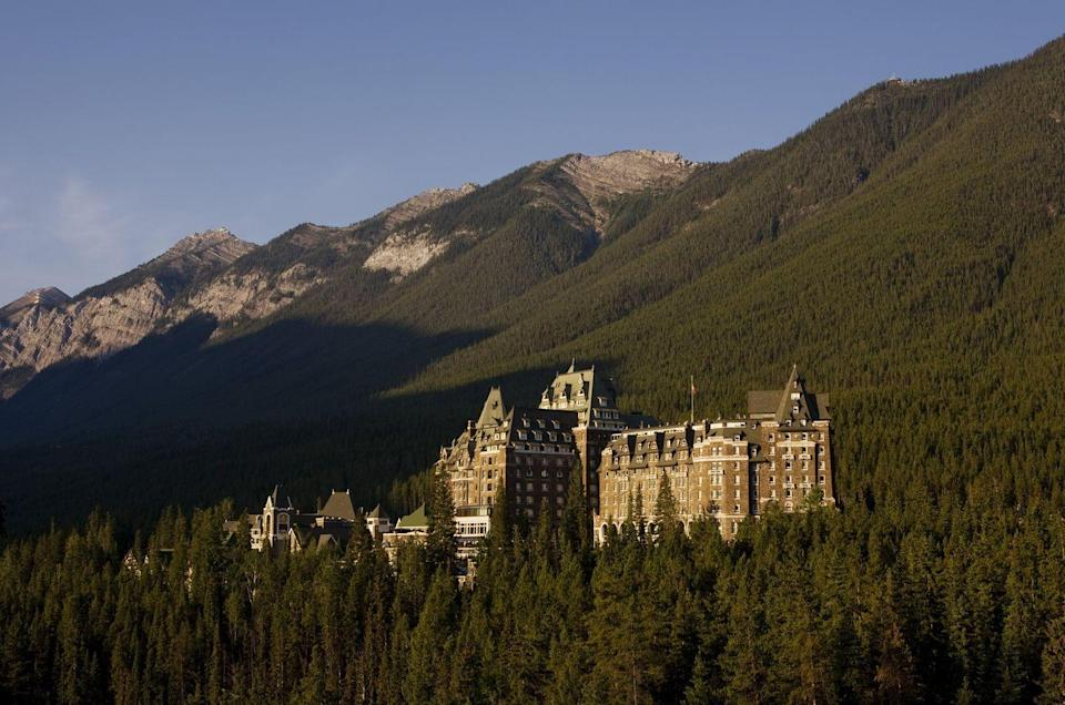 """<p>Located in Banff National Park and dubbed a UNESCO World Heritage Site, this famous <a href=""""https://go.redirectingat.com?id=74968X1596630&url=https%3A%2F%2Fwww.fairmont.com%2Fbanff-springs%2F&sref=https%3A%2F%2Fwww.housebeautiful.com%2Flifestyle%2Fg37678837%2Fmost-haunted-places-in-the-world%2F"""" rel=""""nofollow noopener"""" target=""""_blank"""" data-ylk=""""slk:Canadian hotel"""" class=""""link rapid-noclick-resp"""">Canadian hotel</a> has a dark history. Many guests have reported ghost sightings, including of Sam the bellman who continues to do his job after his death in 1975. Legend says he used to help guests who were locked out of their rooms, and now the elevator sometimes opens on floors without the buttons being pressed.</p>"""
