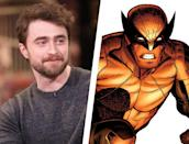 """<p>While this one isn't particularly likely, <a href=""""https://www.nme.com/news/film/harry-potters-daniel-radcliffe-addresses-rumours-that-hes-playing-wolverine-2447742"""" rel=""""nofollow noopener"""" target=""""_blank"""" data-ylk=""""slk:rumors have gone around"""" class=""""link rapid-noclick-resp"""">rumors have gone around</a> over the last year or so that the artist formerly known as Harry Potter could potentially be a contender to play Wolverine. You may not see him in Jackman's towering mold, but that might work even better—Wolverine was always supposed to be very short in the comics, and the 5'5'' Radcliffe would fit perfectly. </p><p>On top of that, he's come a long way since his Potter days as an actor—his roles in movies like <em>Swiss Army Man</em> and TV series like <em>Miracle Workers</em> have not only shown his increased range, but also that he's willing to do just about anything for a role (his <em>Swiss Army Man </em>character is literally a talking corpse, so, yeah.).</p>"""