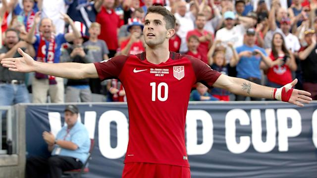 The United States leapfrogged Panama into the final automatic qualifying spot after a resounding 4-0 victory.