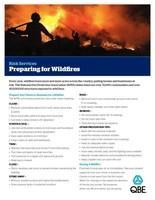 Every year, forest fires burn more and more acres across the country, endangering homes and businesses.  Here are some recommendations to protect your family and property.