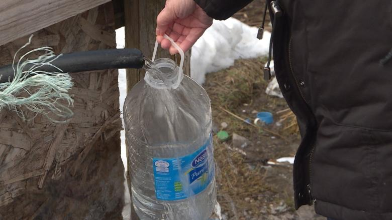 Roadside water in Stephenville is sip at your own risk