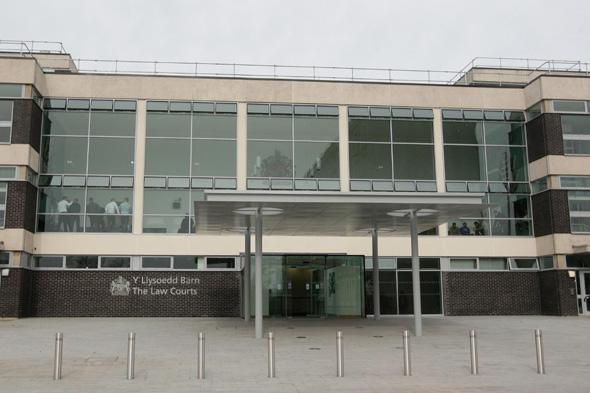 A general view of Mold Crown Court. Former Coronation Street actor Bruce Jones pleaded guilty to dangerous driving this morning.