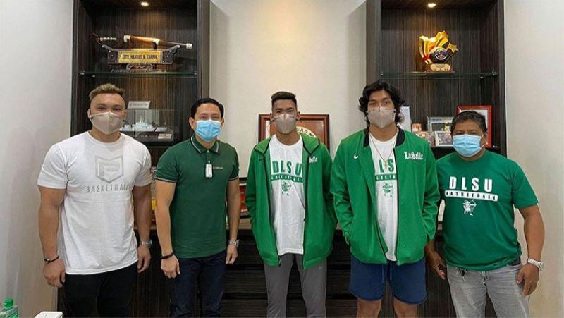 La Salle welcomes reigning UAAP Rookie of the Year Mark Nonoy