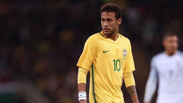 <p>The most expensive player in the world, Neymar will be the star man for Brazil in Russia. </p> <br><p>The Paris Saint-Germain forward made his debut for Brazil in 2010 aged just 18. It did not take him long to make his mark and Neymar scored in his first game for Brazil. </p> <br><p>He has since gone on to score 53 goals in 83 games for his country. </p>