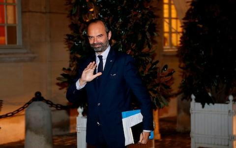 Edouard Philippe has been under pressure to suspend the controversial new taxes - Credit: FRANCOIS GUILLOT/AFP
