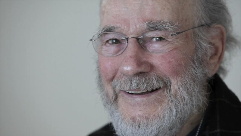 In this Feb. 24, 2012 photo, Dr. Peter Goodwin, a Portland physician who for years to give terminally ill patients the right to die on their own terms, smiles for a photo in Portland, Ore. Goodwin died Sunday, March 11, 2012 in his Portland home after using lethal chemicals obtained under an Oregon law he championed. He was 83. (AP Photo/The Oregonian, Michael Lloyd)  MAGS OUT; NO SALES; TV OUT