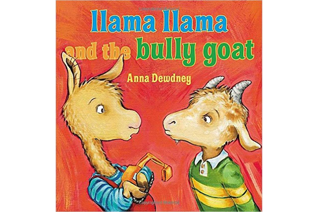 "Finding story books about bullying isn't easy, especially if you are concerned about scaring your young child. In the lighthearted picture book, part of the series by Anna Dewdney, <a rel=""nofollow"" href=""https://www.amazon.com/Llama-Bully-Goat-Anna-Dewdney/dp/0670013951/ref=sr_1_16?ie=UTF8&qid=1487519326&sr=8-16&keywords=llama+llama+books""><em>Llama Llama and the Bully Goat</em></a>, Llama Llama confronts a bully for the very first time. This fun book is a great way to start talking about being kind and speaking up when someone is using mean words or picking on others and is written for children 2- to 5-years old. While you're at it, check out the <a rel=""nofollow"" href=""http://www.rd.com/advice/parenting/15-best-books-to-read-as-children-and-adults/1"">15+ best books to read as children (and adults)</a>."