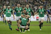 Cian Healy says Johnny Sexton's match-winning drop goal in Paris two years ago was a 'crucial moment' in Irish rugby history