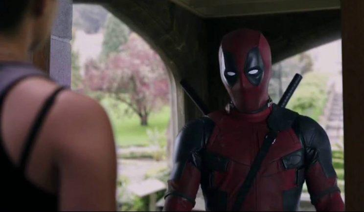 Deadpool calls in on Negasonic at the X-Mansion - Credit: 20th Century Fox