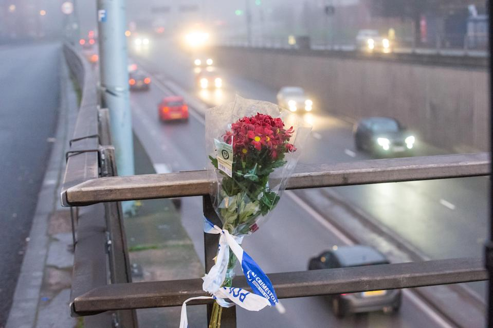 Tributes have been paid to the victims of the crash (SWNS)