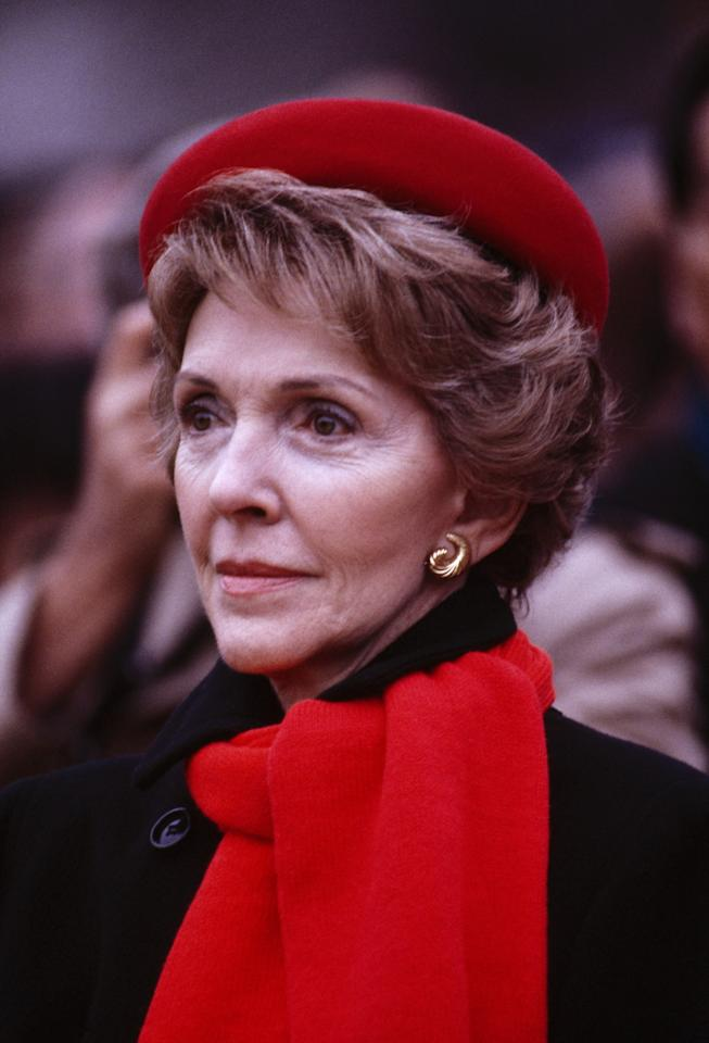 <p>Nancy Reagan, former U.S. first lady, died on March 6, 2016 at 94 from congestive heart failure. Photo from Getty Images </p>