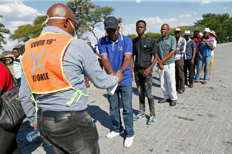 South Africa's economy was already in bad shape before the coronavirus hit (AFP Photo/Phill Magakoe)