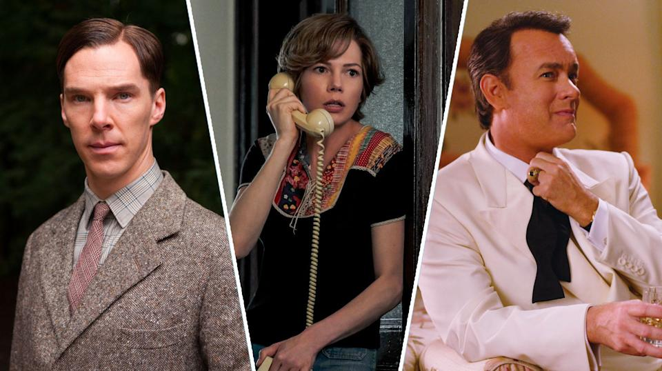 The Imitation Game, All The Money In The World, Charlie Wilson's War.