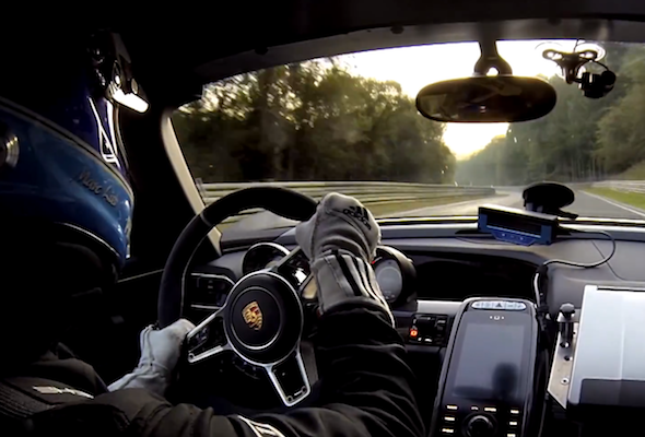 Video: Porsche blitzes Nurburgring lap record