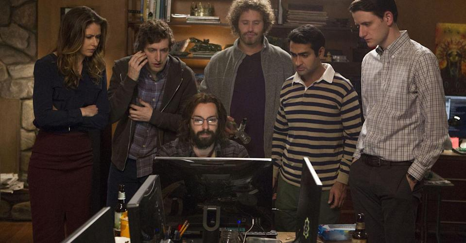 "<p><em>Silicon Valley</em> nearly missed its window. The tech-brother of <em>Entourage</em>, <em>Silicon</em> manages to tell its story with considerably fewer jerks than its bro-y counterpart. The comedy continues to draw critical acclaim, even after its untimely end.</p><p><a class=""link rapid-noclick-resp"" href=""https://play.hbonow.com/series/urn:hbo:series:GVU2WugfAylFvjSoJATvA?camp=Search&play=true"" rel=""nofollow noopener"" target=""_blank"" data-ylk=""slk:Watch Now"">Watch Now</a></p>"