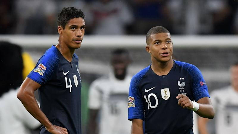 'I always want Mbappe in my team' - Varane furthers Real Madrid speculation