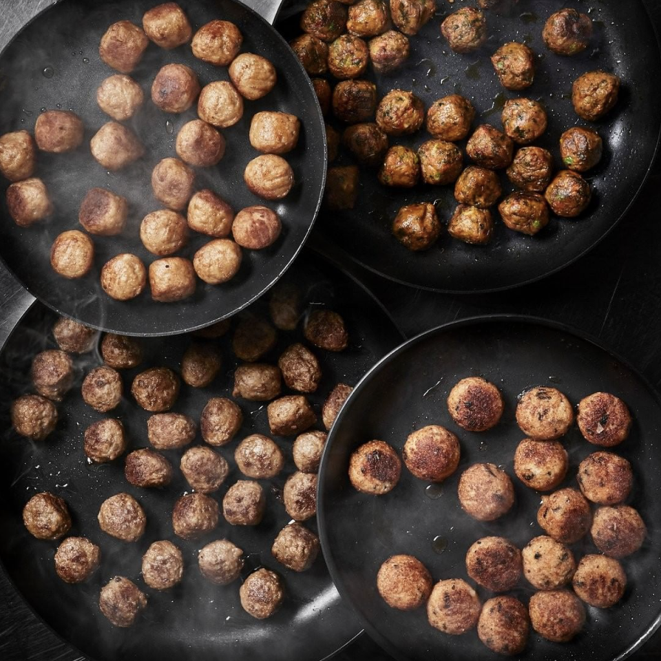"<p>The number one spot, naturally, goes to an IKEA classic. The company recently riffed on their iconic Swedish meatball to include a line featuring chicken, veggie, and salmon meatballs. Paired with mashed potatoes or veggies (and the essential dollop of Lingonberry jam), the dish typically comes to a grand total of $5.99</p><p>Photo: Instagram/<a href=""https://www.instagram.com/p/Buy5DSShy20/"" rel=""nofollow noopener"" target=""_blank"" data-ylk=""slk:IkeaUSA"" class=""link rapid-noclick-resp"">IkeaUSA</a> </p>"