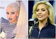 <p>Lady Gaga has never been one to shy away from a bold look. Exhibit A: metallic lips, metallic brows, and some serious liner art, all at once. But she's also stripped it all down to just a hint of mascara and <em>maybe </em>some lip gloss. As cheesy as it sounds, it's a look to go Gaga for. </p>