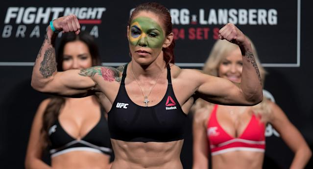 It is not yet known when Cris Cyborg will fight next in the UFC. (Getty Images)