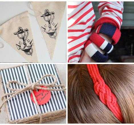 Anchors Aweigh: 7 Nautical-Inspired Projects for Home and Fashion
