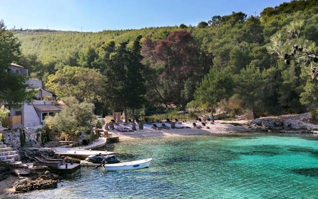 Discover the best recommendations for five of the best beach holidays in Croatia from a secluded island 15 minutes from bustling Hvar and perfect for children, to a barefoot-chic retreat set amongst the pines. For more general advice on booking a holiday in Croatia, see our Croatia summer holidays guide. Our guide features expert recommendations for beach, villa, culture, cruise, food and drink and activity holidays. Palmizana Hotel, near Hvar Croatia's most fashionable island resort, Hvar Town, has counted Prince Harry, Keira Knightley and Daniel Craig among its guests. It's a magnet for yachting types, hence the expensive rustic-chic seafood restaurants. Escape the achingly chic by 15-minute taxi ride to the Palmizana Hotel, a pleasingly quirky choice on a secluded island that is perfect for children. Young people here can run wild in nature – there's no traffic – and the small beach gives on to a sheltered bay with shallow water. The setting is ideal for outdoorsy kids – and adults – who love to explore. From the hotel's terrace, where you'll find an art gallery, steps lead down to a pebble beach, with sunbeds and parasols. Extra beds and cots are available on request, and basic self-catering facilities mean you can prepare snacks. Read the full review: Palmizana Hotel, Hvar The best hotels in Hvar • The best Croatian Island hotels • View our best escorted tours of Croatia Hotel Lone, Rovinj Croatia's first Design Hotel, the minimalist-chic five-star Hotel Lone. Situated on the coast, a 10-minute walk from Rovinj's old town, with 248 stylish rooms and suites, three restaurants and a vast wellness centre, it seemed to have everything – except a beach. That was fixed in June 2014, when the Mulini Beach in Lone Bay opened. The work of Zagreb-based architects 3LHD, who also designed the hotel, it is approached along an elegant waterside promenade, running from the ACI yachting marina to the bay. The bathing area, backed by lush Mediterranean planting, combines a pebb