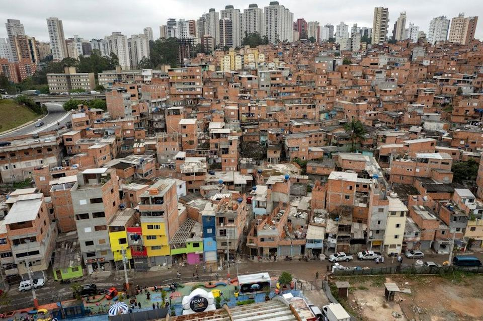 Brazil Favela Anniversary (Copyright 2021 The Associated Press. All rights reserved.)