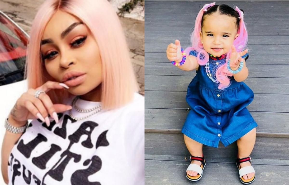 Blac Chyna Slammed For Putting Hair Extensions On Dream 1 Video